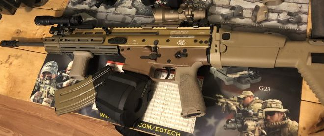 FN SCAR 16 MOD1 Technical Data Package - 248 Shooter