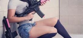 heels and pistols