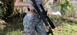 long range rifle and long legged model
