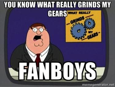 Fanboys in the gun community grind my gears