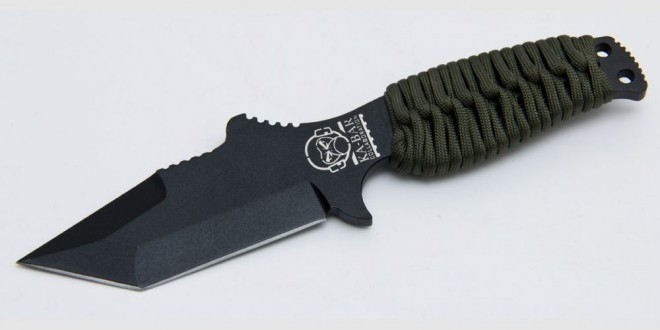 Mil-Spec Monkey and Ka-Bar knife collaboration. This is a one of a kind beater knife