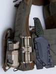 MALICE Clips attached to a plate carrier
